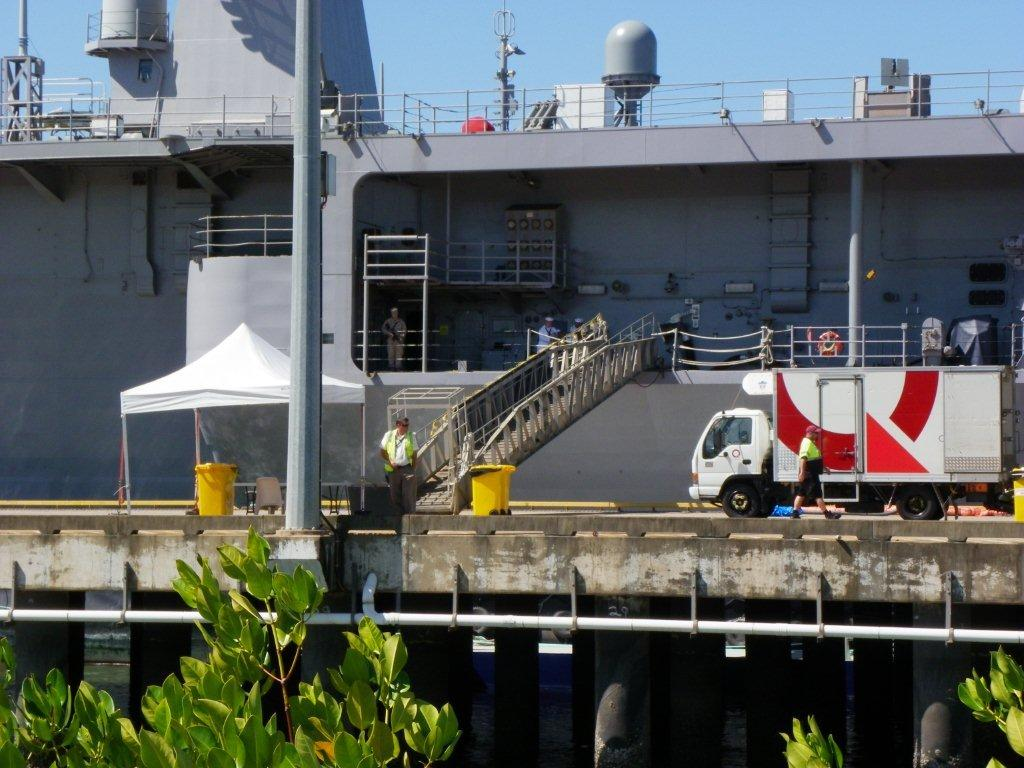 American Navy Ship in Cairns (16)